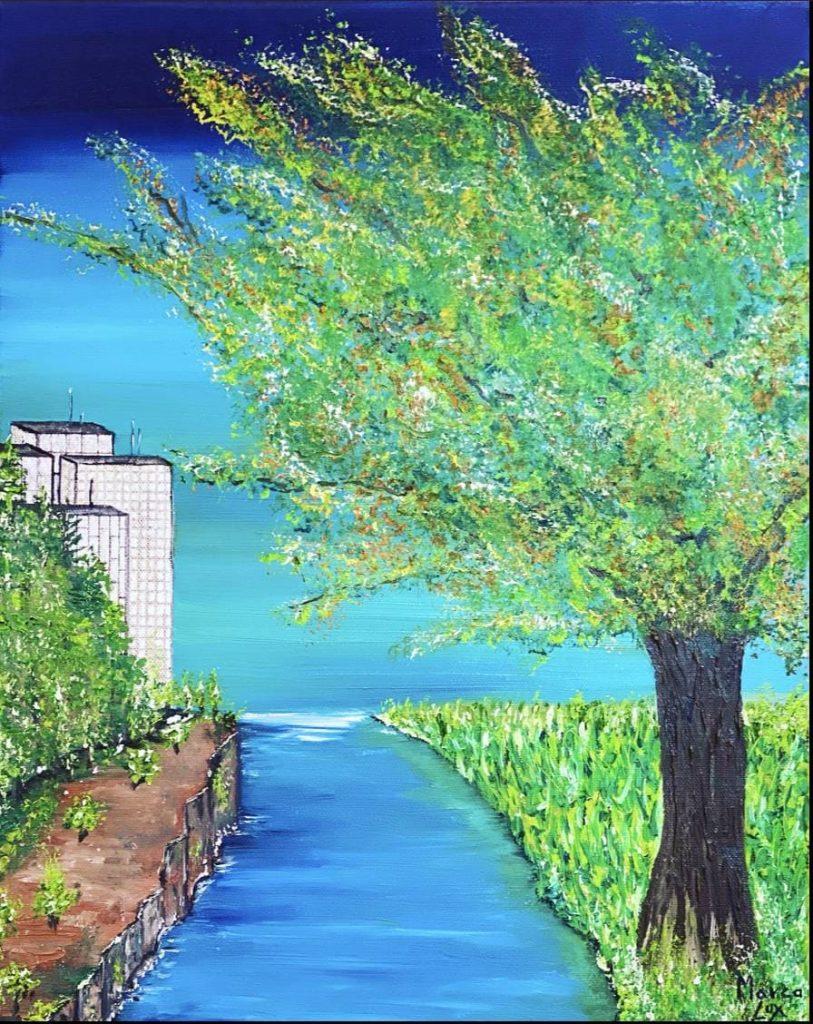 Lienzo A place del pintor de arte alemán Marco Lux