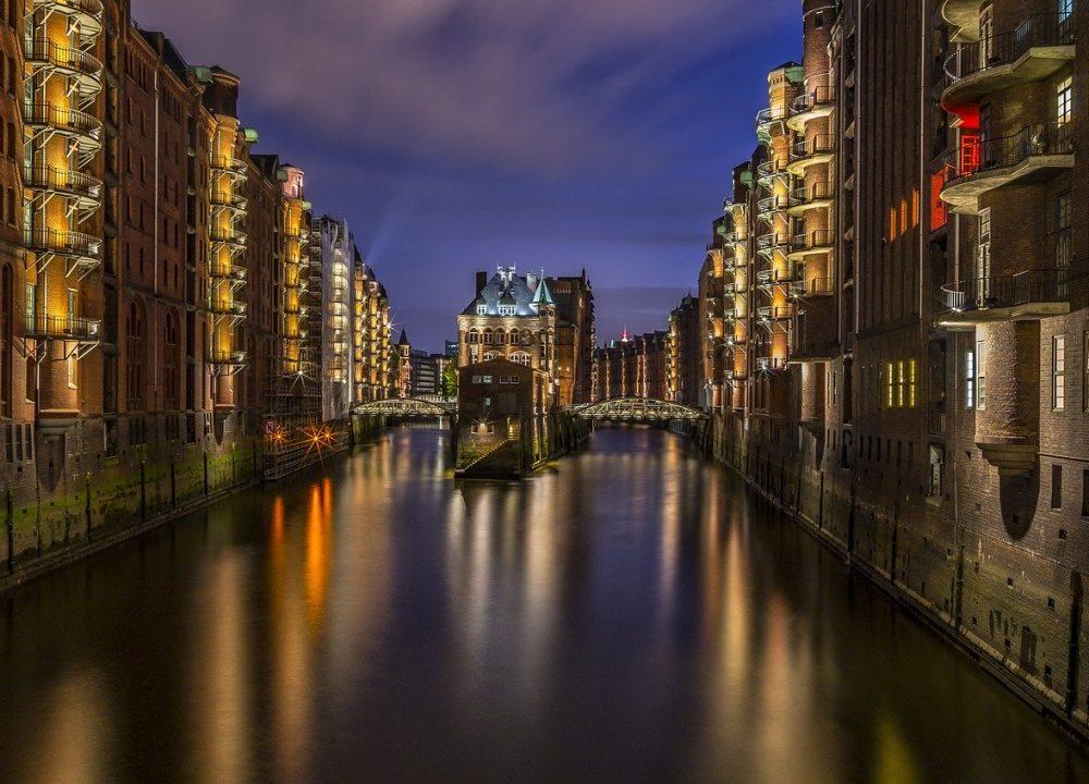 Canal de Hamburgo - Alemania